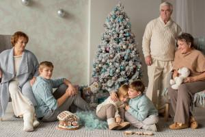 Как подобрать семейный образ для новогодней фотосессии – советы экспертов