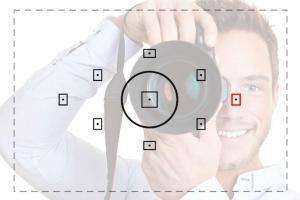 Как использовать точки фокусировки при съемке фотоаппаратом