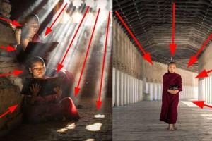 Как направить взгляд зрителя на снимках