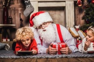 Идеи интересных фотосессии с Дедом Морозом