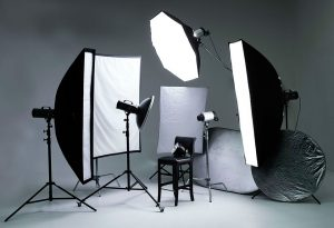 Рефлекторы в фотостудии