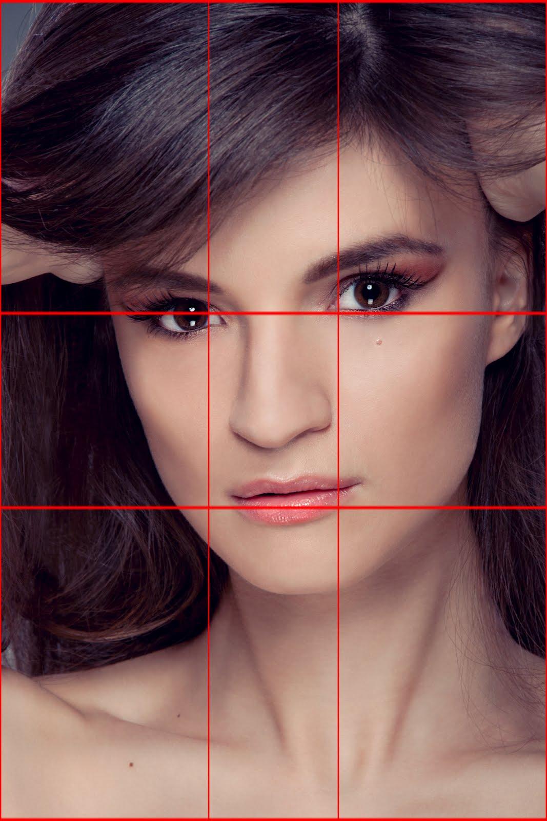 композиция портрета в фотографии платье