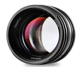 Суперсветосильный объектив Kamlan 50mm f/1.1