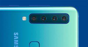 Смартфон с четырьмя камерами