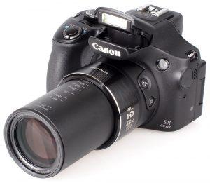 Фотоаппарат с суперзумом