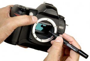 Очистка сенсора фотоаппарата