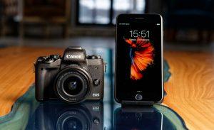 На что лучше фотографировать телефон или фотокамера