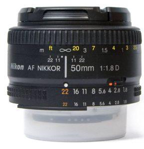 Фотообъектив AF Nikkor 50mm