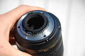 Байонет фотообъектива