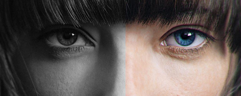 Черно-белые или цветные снимки
