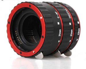 Удлинительные-кольца для фотообъективов