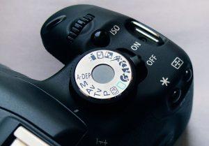 Выбор режима съемки фотоаппарата