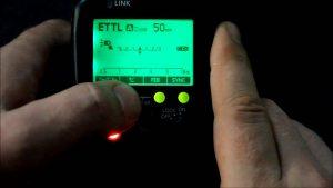 Настройки внешней фотовспышки с TTL фоторежимом