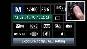 Экспокоррекция в фотокамере