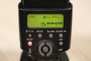 Вспышка с E-TTL технологией