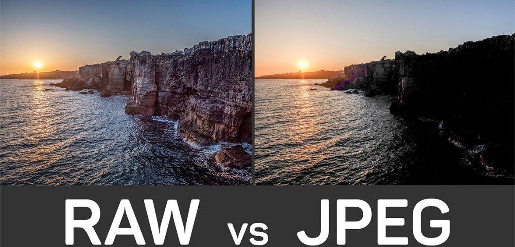 Форматы RAW и JPEG