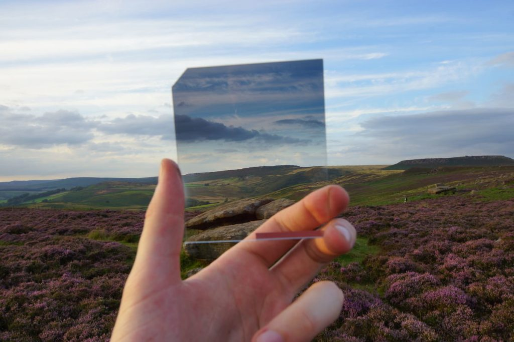 Градиентный фильтр для съемки пейзажа