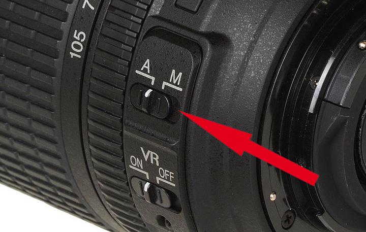 этого все не работает кнопка резкости на фотоаппарате одном его недавних