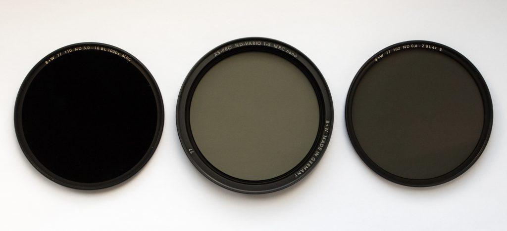 Нейтрально-серый фильтр для съемки пейзажа