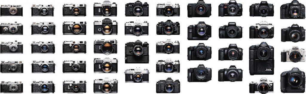 Какие фотоаппараты выпускает Nikon