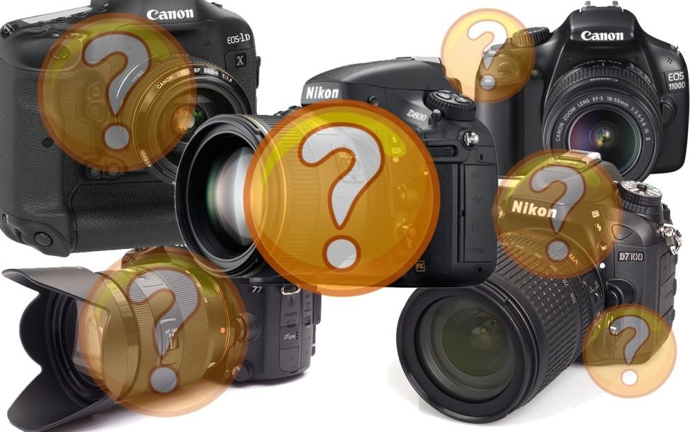 Параметры оценки зеркальных фотоаппаратов