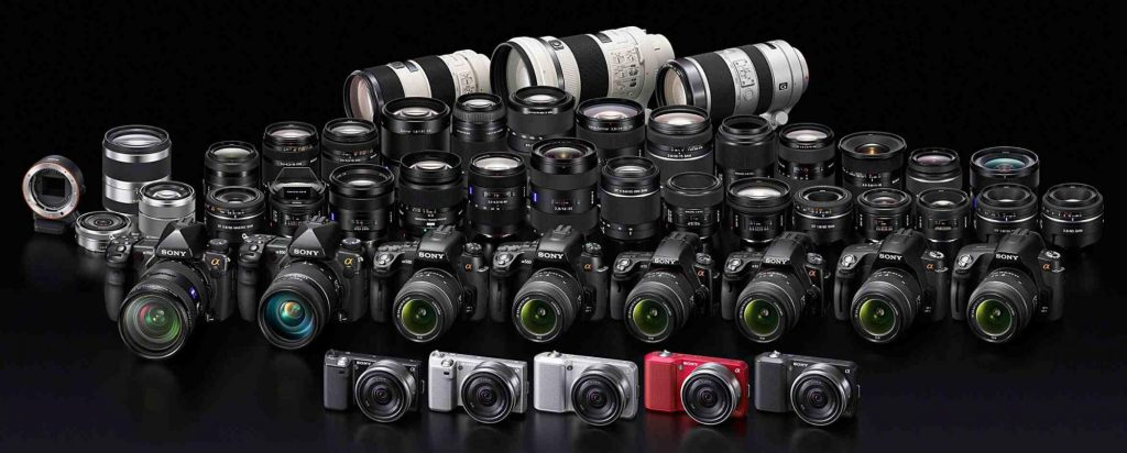Sony и фотографическая техника