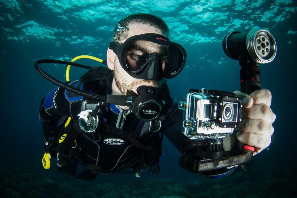 Техника для подводной фотосъёмки