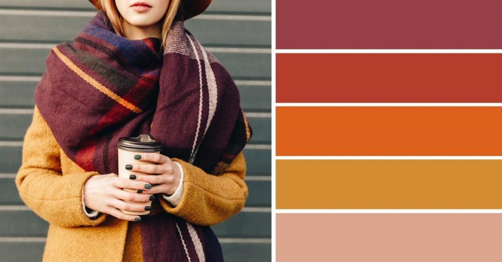 Выбор цвета одежды для осенней фотосессии