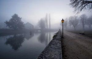 Туман на фото