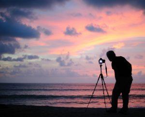 Фотоштатив для съемки закатов