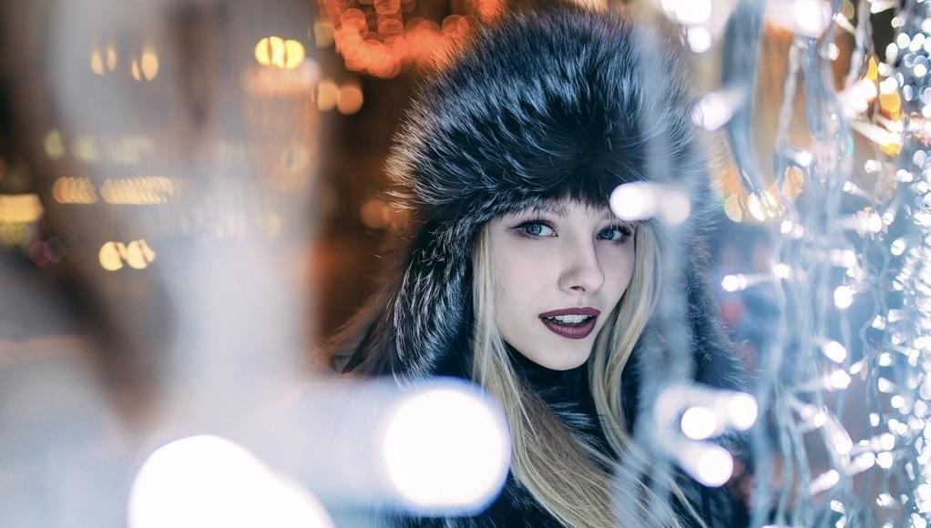 Как-снимать-портреты-на-фоне-новогодних-огней