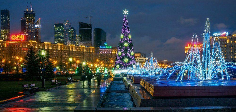Какие еще места в новогодней Москве заслуживают внимания фотографа