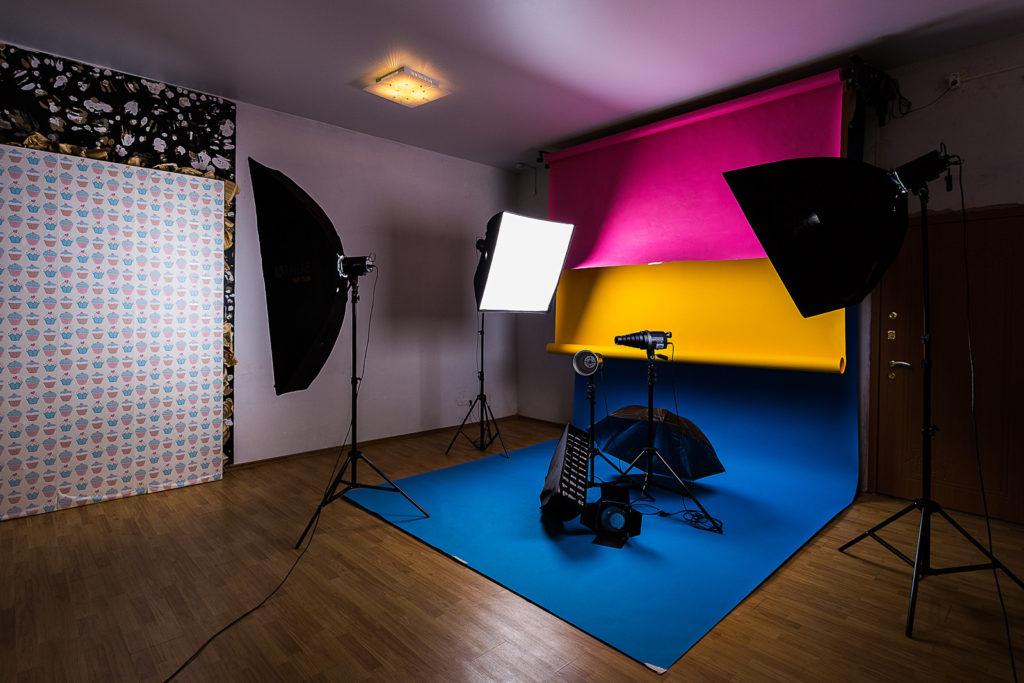 всей как делаются стены в фотостудии если кант