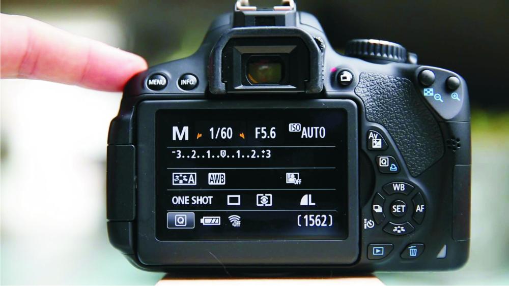 звездочка на фотоаппарате практически всегда ложатся