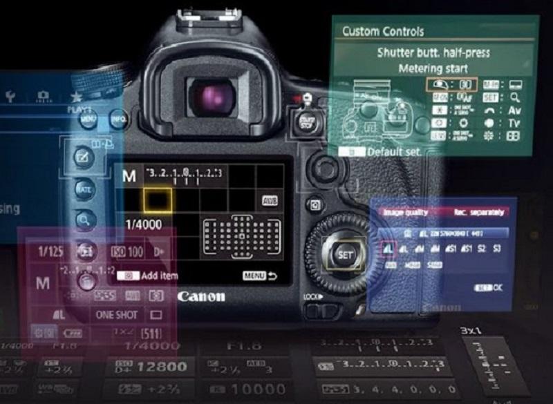 Настройки фотоаппарата